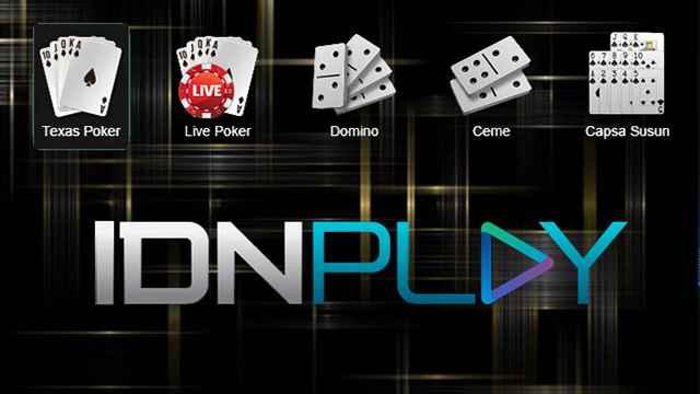 jenis permainan IDN Poker